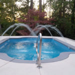 Alaglas Pools Naples fiberglass swimming pool in quartz