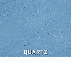 Alaglas Pools' Quartz, a teal blue fiberglass swimming pool color