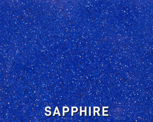 Alaglas Pools' Sapphire, a dark blue fiberglass swimming pool color