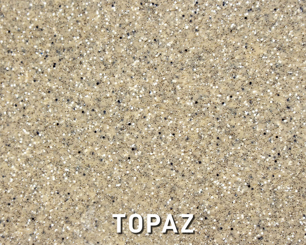 Alaglas Pools' Topaz, a neutral fiberglass swimming pool color