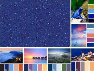 Alaglas Fiberglass Pools Sapphire Gelcoat Color Inspiration Board