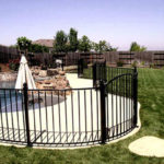 Poolside Safety Fencing