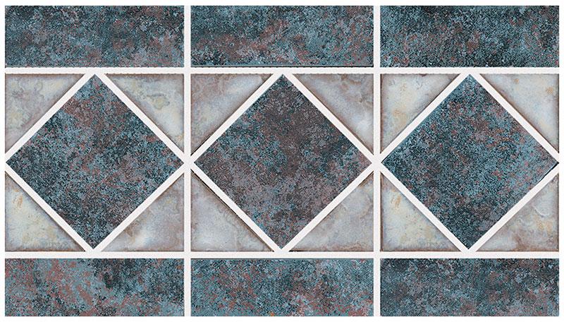 Dakota: Rustic Brick Border Tile by NPT