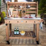 Pinterest Outdoor Serving Cart
